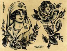 Vintage Tattoo Ideas Men Old School Black Art 36 Ideas For 2019 Traditional Tattoo Woman, Traditional Tattoo Old School, Traditional Tattoos, Flash Art Tattoos, Traditional Flash, American Traditional, Tatuagem Old Scholl, Tattoo Tradicional, Old School Rose