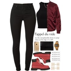Small talk /// Childish Gambino by idcmyaa on Polyvore featuring T By Alexander Wang, 7 For All Mankind, 8, Casio, Repossi, Shashi, Acne Studios and Timberland