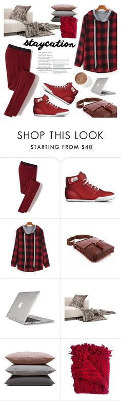"""""""Cozy Staycation Style"""" by tuccipolo ❤ liked on Polyvore featuring Icebreaker, Speck, Hawkins, Woven Workz, contestentry, staycation and tuccipolo"""