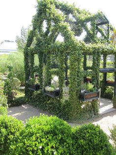 This would be great as a chicken coop or aviary - Huntington Library and Botanical Gardens.