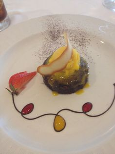 I have no idea what this dessert is, but it surely looks delicious! Silversea Dessert  by catherine.ashurst, via Flickr