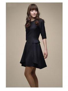 new office wear for women in black - StyleNaks #office wear