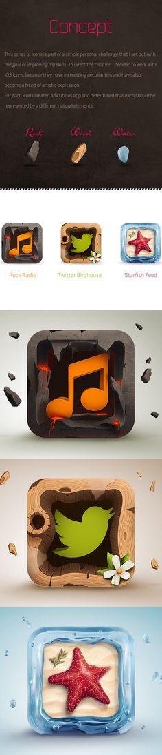 iOS Icons by Rodrigo Bellão