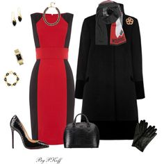 A fashion look from January 2014 featuring Episode dresses, Coast coats and Christian Louboutin pumps. Browse and shop related looks.