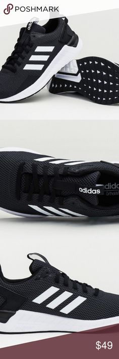 huge selection of dd852 77972 NEW Mens 13 Adidas QUESTAR RIDE Shoes CORE BLACK NEW Mens 13 Adidas  QUESTAR RIDE Shoes