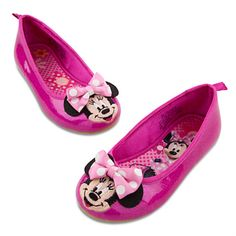 Ballet Flat Minnie Mouse Shoes for Toddler Girls | Shoes & Socks | Disney Store