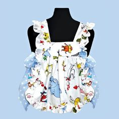 side tie pinafore toddler - Google Search