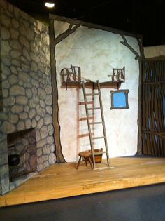 into the woods set design baker's - Google Search