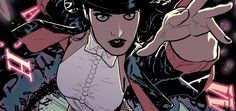 With a name like Zatanna Zatara, becoming a professional stage magician almost seems like an unquestionable career choice. Of course, it doesn't hurt that the illusions she creates and the spells she weaves to dazzle the audience just so happen to be real.