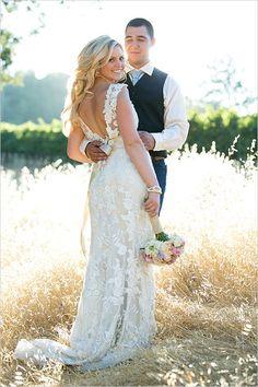 20 BEST COUNTRY CHIC WEDDING DRESSES: RUSTIC & WESTERN WEDDING DRESSES