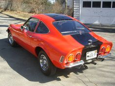opel GT. i'm sorry but cars were simply more beautiful back then.