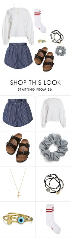 """""""#16"""" by reileywhelen on Polyvore featuring STELLA McCARTNEY, NLY Trend, Birkenstock, Natasha, Feather & Stone and Bling Jewelry"""