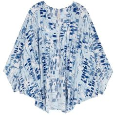 Melissa Mccarthy Seven7 Plus Brushstroke Patterned Open Front Shrug ($59) ❤ liked on Polyvore featuring plus size women's fashion, plus size clothing, plus size outerwear, blue, plus size, shrug cardigan, cardigan shrug, plus size shrugs and blue shrug