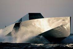Wally Power yacht, styling by Lazzarini Pickering Architetti. Yacht Design, Boat Design, Speed Boats, Power Boats, Lamborghini, Wally Yachts, Yacht Boat, Yacht Club, Super Yachts