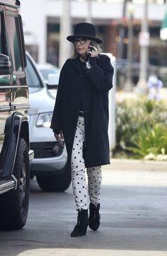 Diane Keaton Photos - Diane Keaton Spotted at a Gas Station - Zimbio