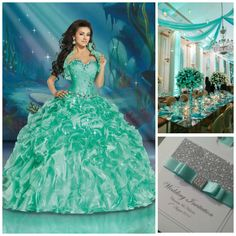 Mint Theme Ideas | Quinceanera Ideas | Quinceanera Planning |