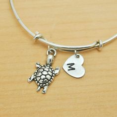 A personal favorite from my Etsy shop https://www.etsy.com/ca/listing/219441329/turtle-bangle-sterling-silver-bangle
