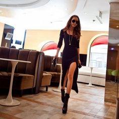 "Selling this ""Black Hi-Lo Dress"" in my Poshmark closet! My username is: girlrandi. #shopmycloset #poshmark #fashion #shopping #style #forsale #Poor Little Rich Girl #Dresses & Skirts"