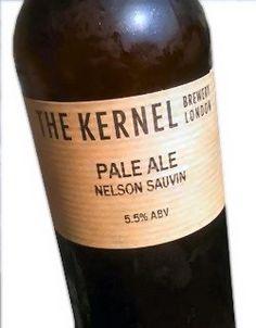 Cerveja The Kernel Pale Ale Nelson Sauvin, estilo American Pale Ale, produzida por The Kernel Brewery, Inglaterra. 5.5% ABV de álcool.