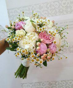 Wedding Bouquet... #peonies #pinkpeony #whitepeonies #chamomile #roses #pinkroses #whiteroses #hypericum #floristshop #loveflowers #flowers #weddingingreece #weddingbouqet #weddingDay #specialday #specialmoments #specialflower #flowerlovers #naturelovers #nofilterneededforthisbeauty #greece #thessaloniki #anthos_theartofflowers White Peonies, White Roses, Pink Roses, Special Flowers, Love Flowers, Greece Thessaloniki, Greece Wedding, Special Day, Flower Art
