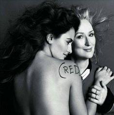 Penelope Cruz and Meryl Streep Vogue Paris May 2010