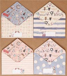 maritime Sentimental Circus letter set stripes dots 2