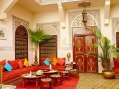The official publication of the Sheffield School - Designer Monthly - Hotel Therapy Marrakesh, Riad Marrakech, Turkish Art, Spanish Colonial, Moorish, Serenity, Living Room, Inspiration, Furniture