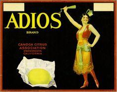 Adios, Lemons, Canoga Park, California