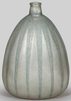 Lalique Vase Mimosa