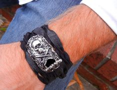 Cool Mens Jewelry Mens Belt Buckle Wrap Bracelet by HappyGoLicky, $115.00