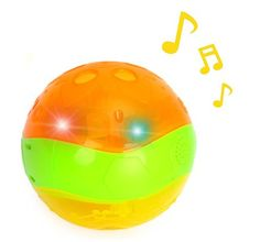 Gifts ideas :Musical Light-Up Interactive Baby Clutch Rattle Ball for Toddlers ** Tried it! Love it! Click the image. : Gift Guide Ideas