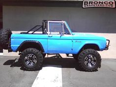 1975 Ford Bronco... would love this!!!