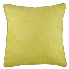 Buy the Sahara Chenille Cushion Mustard | Cushions | The Range