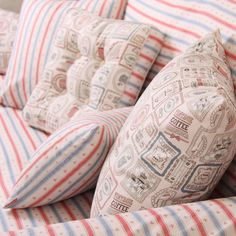 zakka Korean cartoon cotton pillow cover / cushion covers / rely on packet / rely on the pillowcase Caribbean series - Taobao