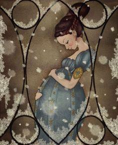 Pinzellades al món: Mamà... una dolça espera / Mamá... una dulce espera / Mom... a sweet hopes