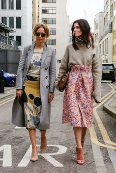The Best Street Style Looks From London Fashion Week http://Glamsugar.com London Fashion Week
