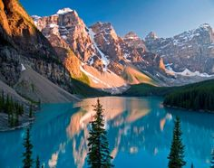 Bannf Canada.  It's at the top of my travel wish list!
