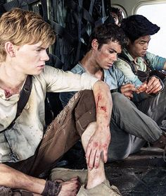 The Ivy Trio! Who should I root for? Newt, Thomas or Minho? Can't decide!
