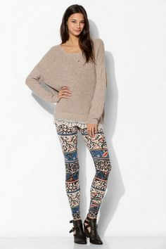 Getting Hipster Leggings: Urban Outfitt ~ hipsterwall.com Hipster Clothing Inspiration