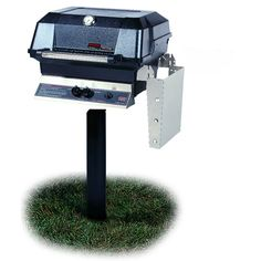 Broil King 94628 Natural Gas Post Mount Grill Broil Mate