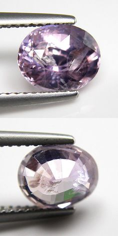 Natural Sapphires 4644: 2.59Cts Natural Ceylon Pink Sapphire Oval Unheat Loose Gemstone BUY IT NOW ONLY: $205.99