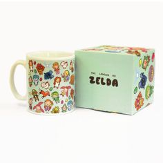 The Legend of Chibi The Legend of Zelda Mug and by BluePotionUK. I want this so bad!!!