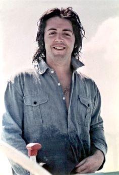 Beatle Paul McCartney, circa late 1960's