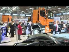 DAF Transport Efficiency - 2015 Commercial Vehicle Show Highlights - YouTube