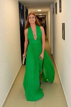marina ruy barbosa vestido verde printing - Pesquisa Google