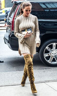 Boot season is here, major fashion girls are wearing one style in particular right now: over-the-knee.