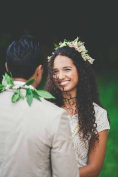 Stunning Traditional Hawaiian Wedding | Maui Maka Photography | Bridal Musings Wedding Blog