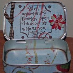 Altered+Altiod+Tin+inside - Scrapbook.com