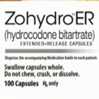 Let's Get The Zohydro Facts Straight (released by AP, written  by the manufacturer, Zogenix)