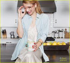 emma roberts baublebar collab campaign pics 16